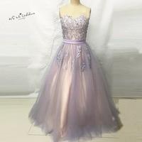 Lilac Lace Cheap Quinceanera Gowns Ball Gown Quinceanera Dresses Vestidos de Quince anos 2017 Debutante Gown Floor Length
