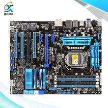 For Asus P8P67 Original Used Desktop Motherboard For Intel P67 Socket LGA 1155 For i3 i5 i7 DDR3 32G ATX