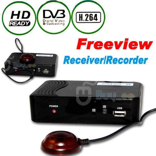 FREEVIEW SET TOP BOX plus RECORDER Digital TV Tuner/Receiver