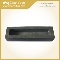 YIHUI capacity 2000G graphite crucible bottle ingot mold for melting gold and silver machine Jewelry Tools Equipments