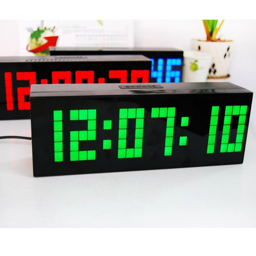 Jumbo LED Զարթուցիչ Countdown ժմչփ Պատի - Տնային դեկոր - Լուսանկար 6