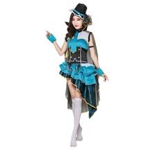 Love live Lovelive Cosplay Ayase Eli Costume Women's Dress Lovely Animal Costume все цены