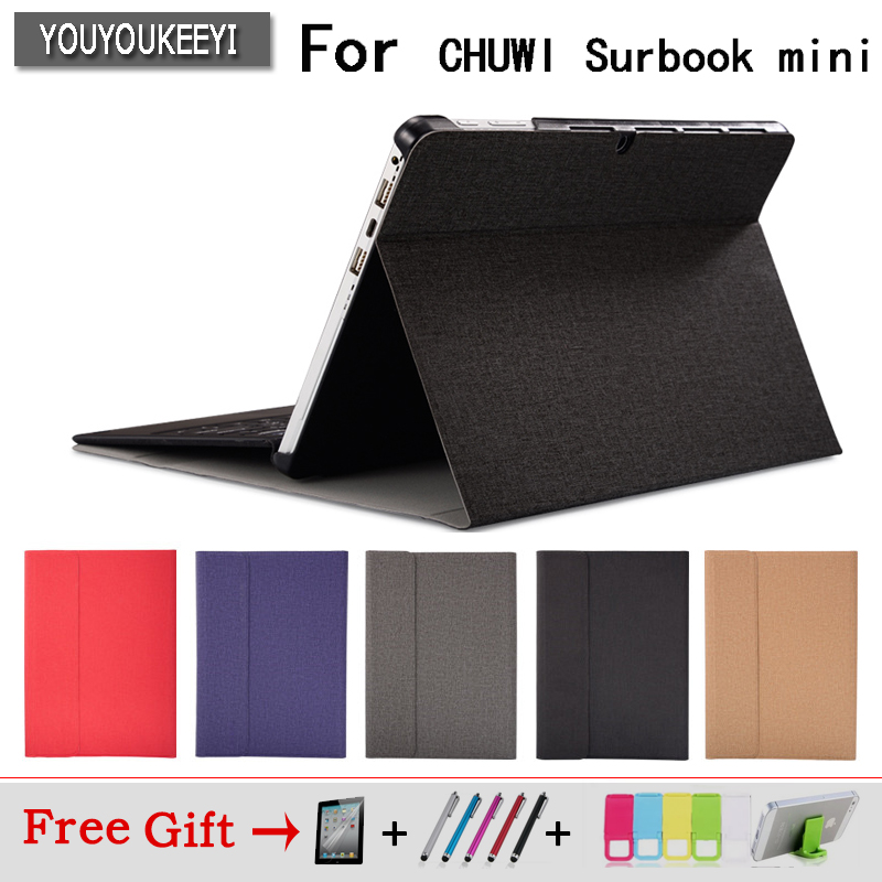High quality Business Case For Chuwi Surbook mini 10.8 inch tablet Stand protective case for CHUWI Surbook mini+3gift
