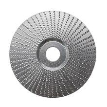 4 дюйма древесины угловые шлифовальные для шлифовального колеса резьба, вращающийся инструмент абразивный диск для угловая шлифовальная машина Вольфрам карбида покрытие 5/8 диаметр