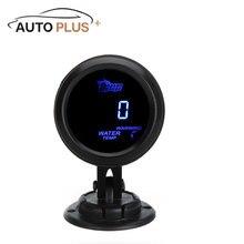 Agua Digital Metro del Calibrador de Temperatura con Sensor para el Coche Auto 52mm 40 pulgadas LCD ~ 120 Grados Celsius