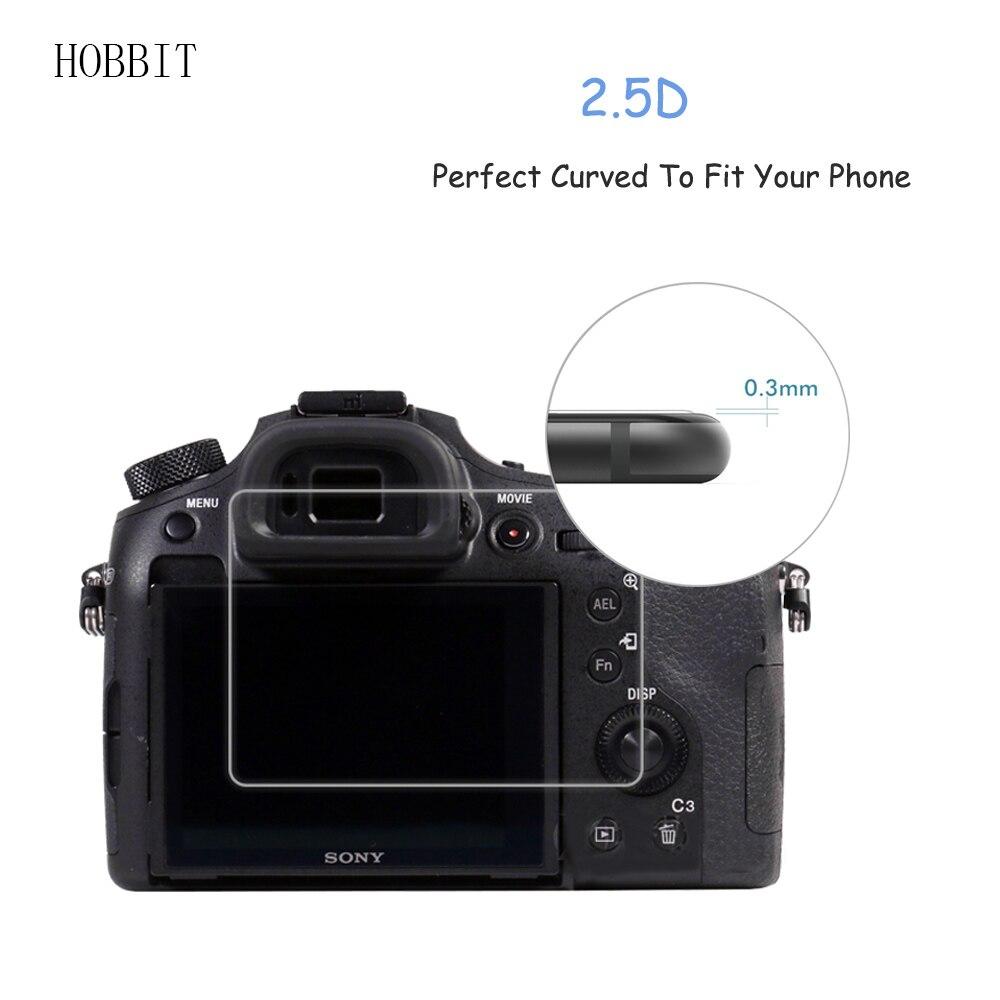 For Sony DSC RX1 RX1R RX10 RX10II RX10III RX10IV RX10V 0 3mm 2 5D 9H Clear  Tempered Glass Screen Protector Digital Camera Film-in Camera LCD Screen