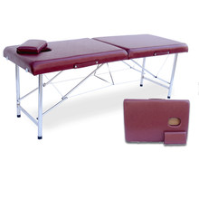 Folding Beauty Bed 180cm length 60cm width Professional Portable Spa Massage Tables Foldable with Bag Salon Furniture Wooden(China)