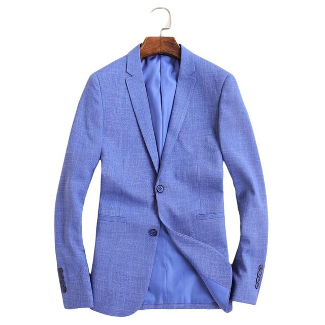 Alta Azul Calidad Marca De Hombres Trajes La Los Blazers CwtxApnTqU