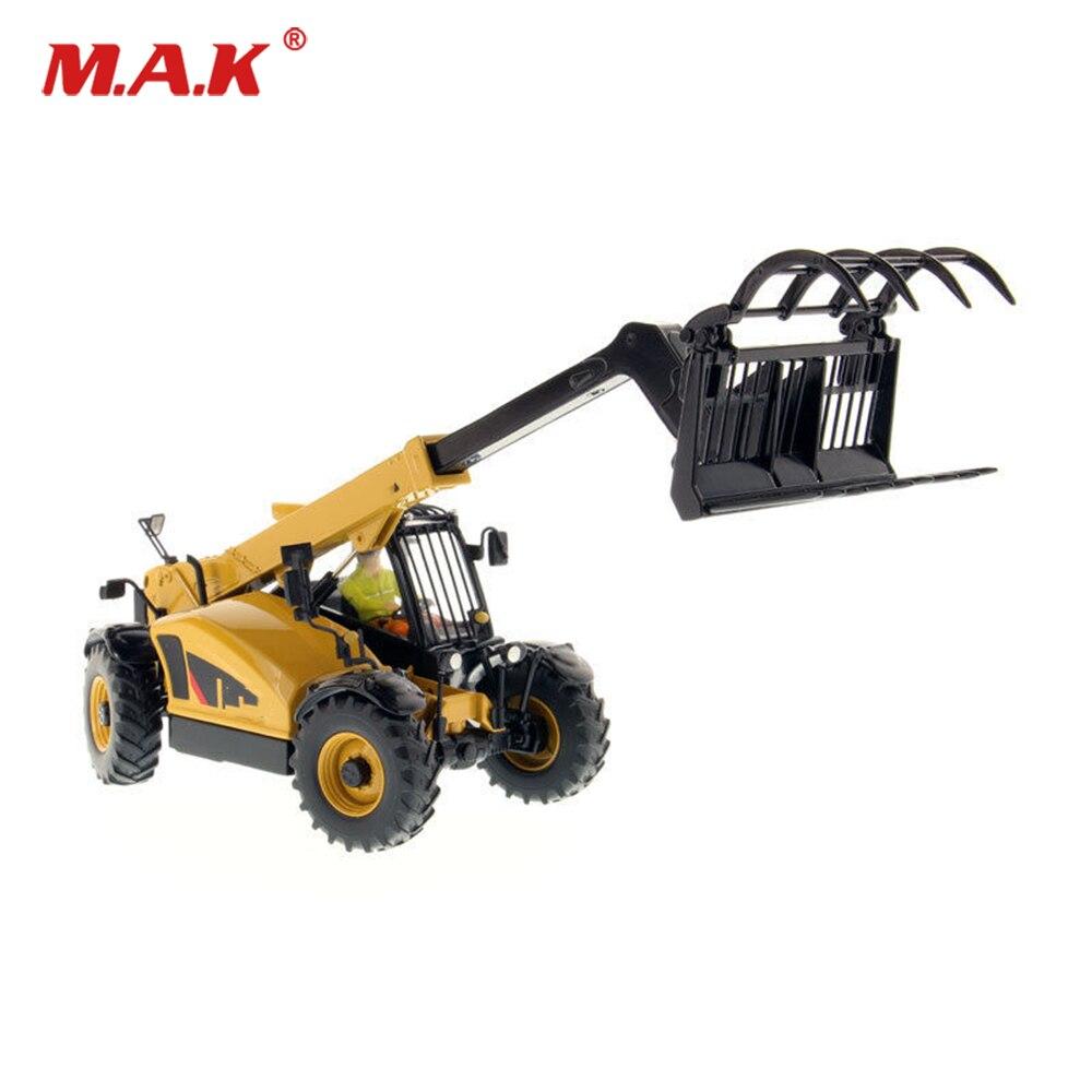 Adulte modèle jouets 1:32 DM télescopique chariot élévateur TH407C télémanipulateur ingénieur camion véhicules jouets pour Collection