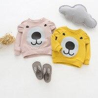Children S Sweatershirts Brand New Autumn Style Girls Clothing Tops Tees Cartoon Pattern Design Long Sleeve