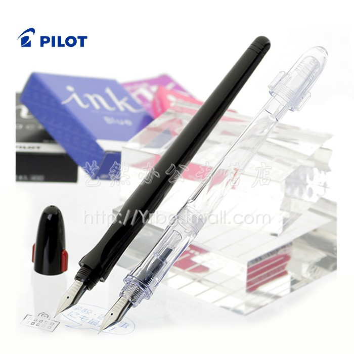 pilot baile fountain pen calligraphy fountain pen fp-50r pilot parallel pen art fountain gothic arabic calligraphy with 12 color ink cartridges 1 5 2 4 3 8 6 0mm freeshipping
