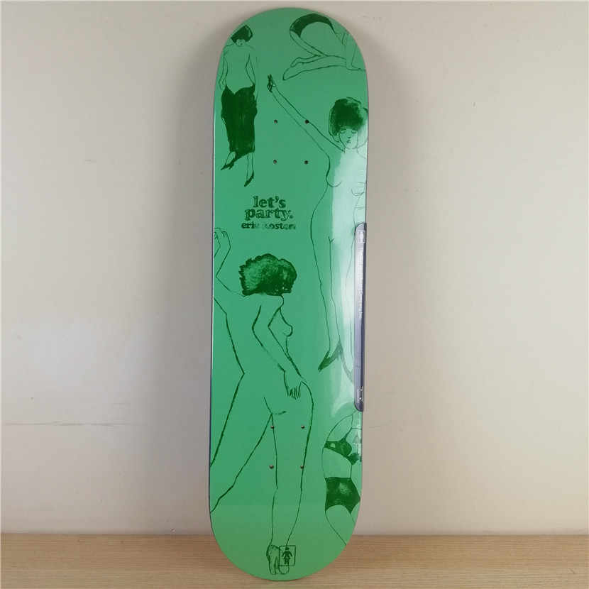 USA BRAND PRO High Quality Professional Canadian Maple Graphics Skate Board  Deck Inch FUNNY Shape Skate for DIY Skateboard
