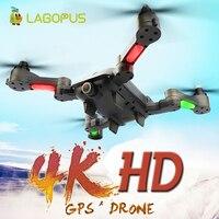 Lagopus Drone 4 K HD Kamera ile rc dört pervaneli helikopter Drone gps WIFI FPV Kamera