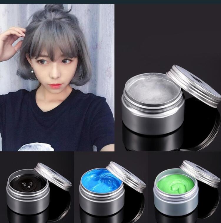 120g Unisex Χρώμα μαλλιών Wax Λάσπη Μαλλιά - Περιποίηση και στυλ μαλλιών - Φωτογραφία 5
