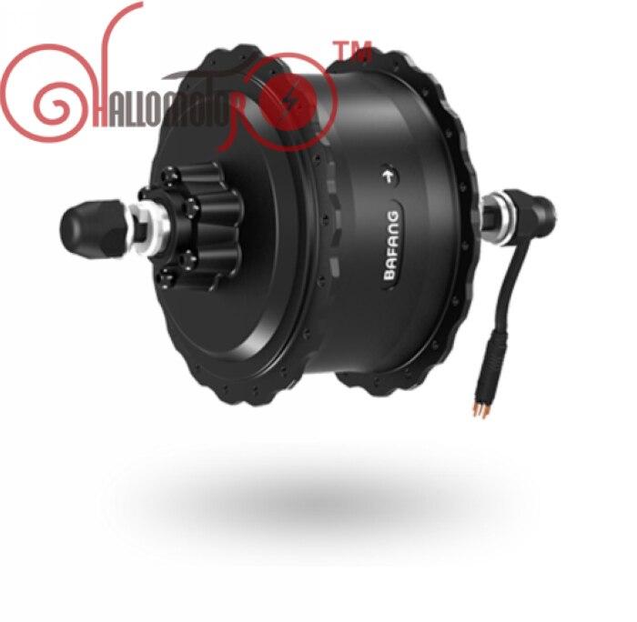 36/48V 500W 8Fun/Bafang Brushless Geared DC Cassette Fat Tire Hub Rear Motor Dropout Width 190mm
