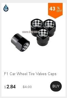 Tampas da válvula de pneu da roda