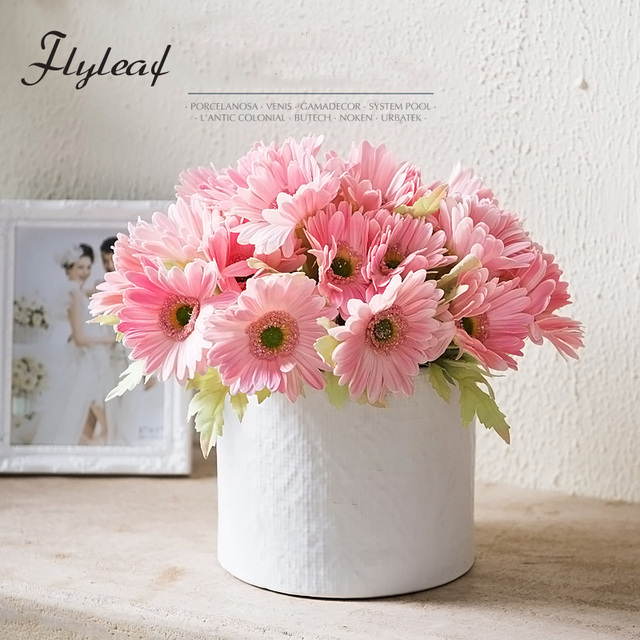 Artificial pu gerbera flower for home decoration wedding mini artificial pu gerbera flower for home decoration wedding mini gerbera red pink white polychromatic mightylinksfo