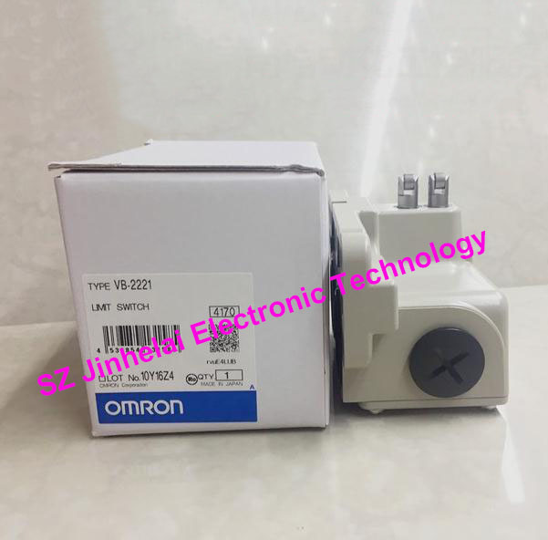 Authentic original OMRON LIMIT SWITCH VB-2221 authentic original omron limit switch d4a 3110n