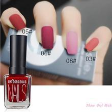 1 unids Bk carácter mate esmalte de uñas de Gel brillo duradero 15 ml arte de uñas negro blanco 12 colores de uñas esmalte