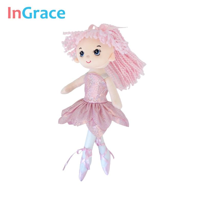InGrace yeni gəlişi parıldayan balerina kuklaları 3 rəngli super - Kuklalar və kuklalar üçün aksesuarlar - Fotoqrafiya 5