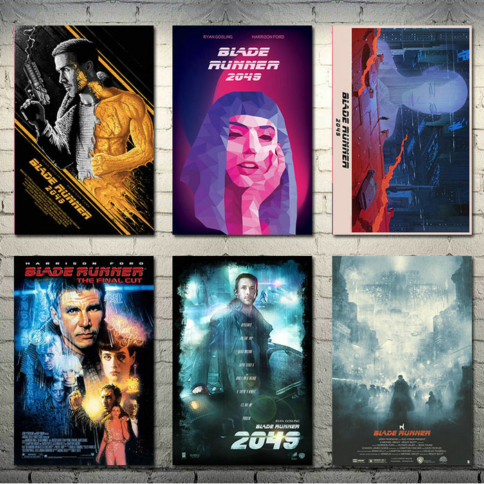 Blade Runner 2049 Movie Art Silk Poster Canvas Print 13x20 24x36 inch