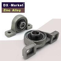 KP006 30mm Zinc Alloy Vertical Bearing Pillow Blocks Set Screw Locking High Strength Fasteners