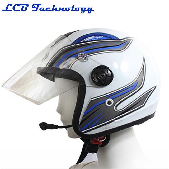 2 PC/LOT Venta Caliente Del Envío Libre casco de La Motocicleta bluetooth walkie talkie inalámbrica headset-V1-2 con caja al por menor