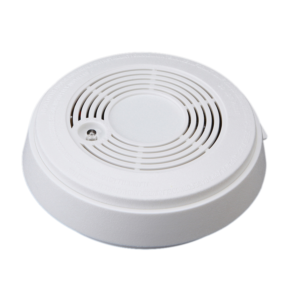 2 Pcs Of MOOL Smoke Composite Alarm Carbon Monoxide Sensor Smoke Detector Integrated