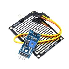 3.3-5V Rain Raindrops Detection Sensor Weather Humidity Module For arduino FREE SHIPPING(China)