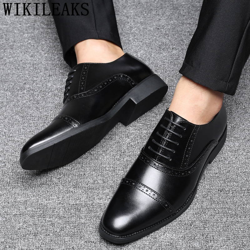 italian shoes men business formal shoes men leather party office brogue shoes men zapatos oxford hombre sapato masculino social doc martens schwarz pascal