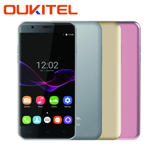 Original OUKITEL U7 MAX Smart Phone MT6580A 1.0 GHz Quad Core 8G ROM 1G RAM 5.5 Inch Moblephone Android 6.0
