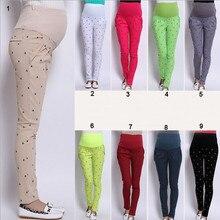 Коллекция живота материнства новая джинсы беременных одежды весна длинные плюс размер