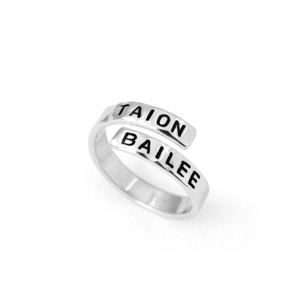 Custom nameplated ring,Adjustable Roller Derby Ring Spiral Ring