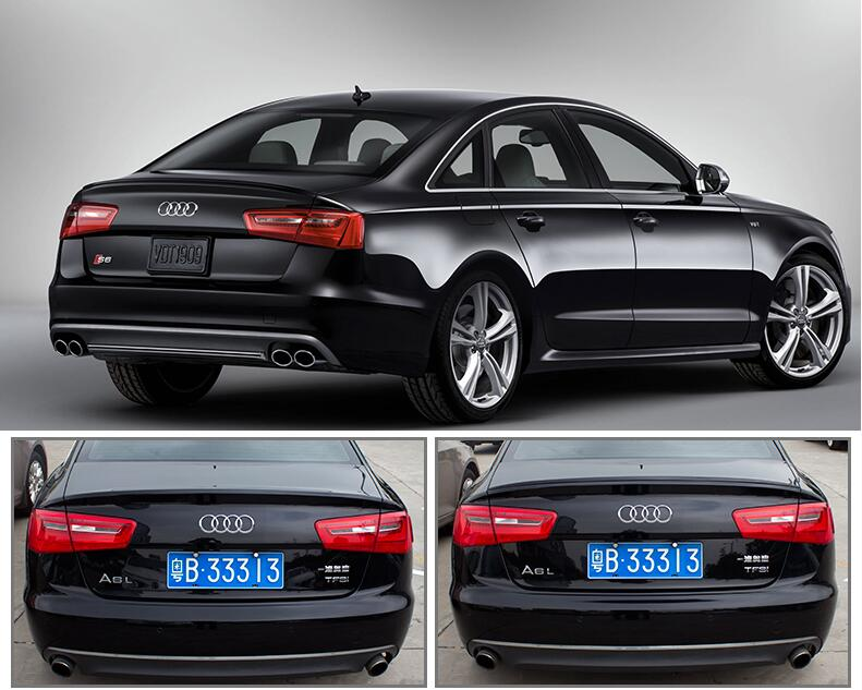Paint Car Rear Wing Trunk Lip Spoiler For 12 17 Audi A6 S6 A6l C7 Sedan 2017 Fast By Ems In Chromium Styling From Automobiles