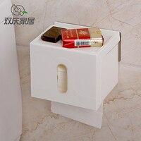 Extractie waterdichte badkamer handdoek box vierkante tissue doos 16*13.5*13 Gratis verzending