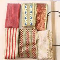6 hof Zufällig Mixed Goldene Penh DIY Geschenk Verpackung Hand-made Schmetterling Knoten Band Weihnachts Einzelne Seite