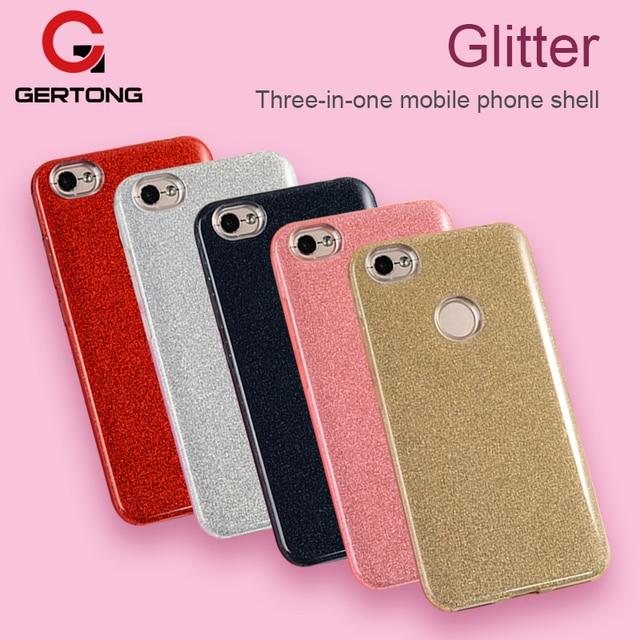 PC &PE &TPU 3 in 1 Phone Case For Xiaomi Mi A1 Mi 5X For Redmi 5 5A 4A 4X Note 4 4X Pro Shining Glitter Bling Protective Cover