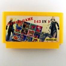 143 em 1 8 bit 60 pinos cartão de jogo