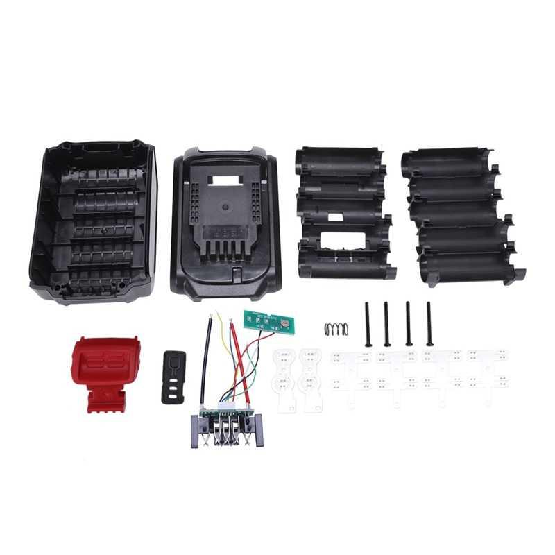 Замена батареи пластиковый чехол для Dewalt 20 в 3A 4A Dcb200/Dcb204-2/Dcb180/Dcb182/Dcb200 18 в литий-ионная батарея Крышка запчасти