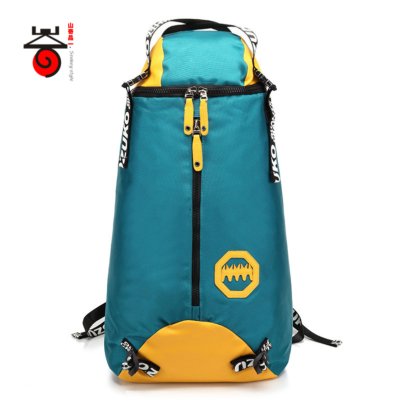 ФОТО Senkey style 2017 New Waterproof Travel Bag Large Capacity Fashion Men Oxford Backpack Teenagers Male Women Creative Laptop Bags