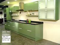 Lacquer Kitchen cabinet(LH LA001)