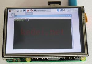 Image 5 - פטל Pi 3.5 אינץ USB HDMI תצוגת LCD מסך מגע אודיו 60Fps צג עבור פטל Pi 3B + PI3 PI2 B + דגם/אפס W