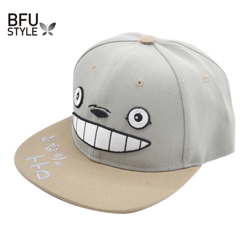 Anime Totoro Hat Lovely Baseball Cap Summer For Men Women Snapback Caps Unisex Hip Hop Gorra Casquette USA Russia Canada 2016 new unisex solid knit beanie hat winter sports hip hop caps for men and women bonnet gorros 20 colors for choose