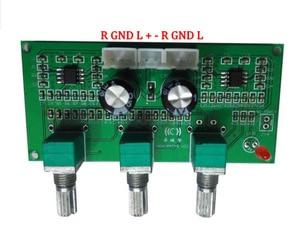 Image 4 - התאמת בס טרבל טון לוח NE5532 סטריאו HIIF למגבר דיגיטלי Loudsperker פעיל שליטה על עוצמת קול