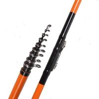 Anzhenji Fishing rod Super strong Rock Rod Pole 2.4m 2.7m 3m 3.6m 4.5m 5.4m 6.3m