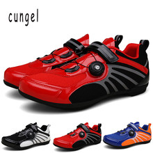 Breathable Pro Self-Locking Cycling Shoes Road Bike Bicycle Shoes Ultralight Athletic Racing Sneakers Zapatos Ciclismo(China)