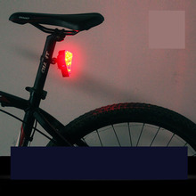 Bike Light USB Charging Bicycle Taillights Riding Equipment Mountain LED Taillight Lasers Cool Fashion Colorful Red White