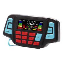 VODOOL мотоцикл Bluetooth аудио Системы fm-радио стерео Динамик MP3 плеер Высокое Качество Мотоциклетные защиты от кражи