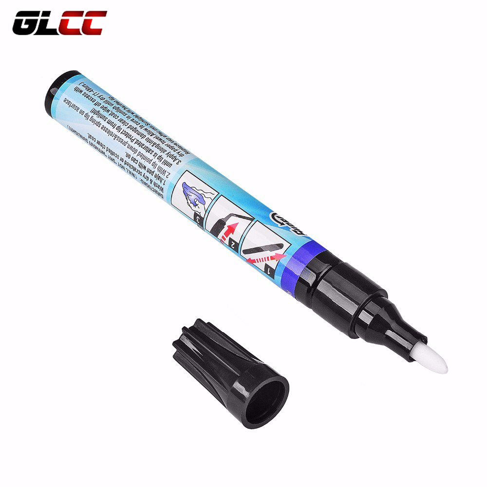 1pcs Magic Permanent Water Resistant Works On All Colors Fix It Pro Clear Car Coat Scratch Cover Remove Repair Painting Pen