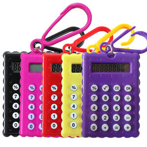 NOYOKERE Student Mini Electronic Calculator Gift Super small Candy Color Calculating